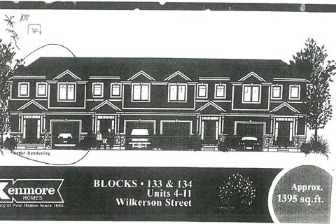 Townhouse for sale at 0 Wilkerson St Unit 8 Thorold Ontario - MLS: X4687035