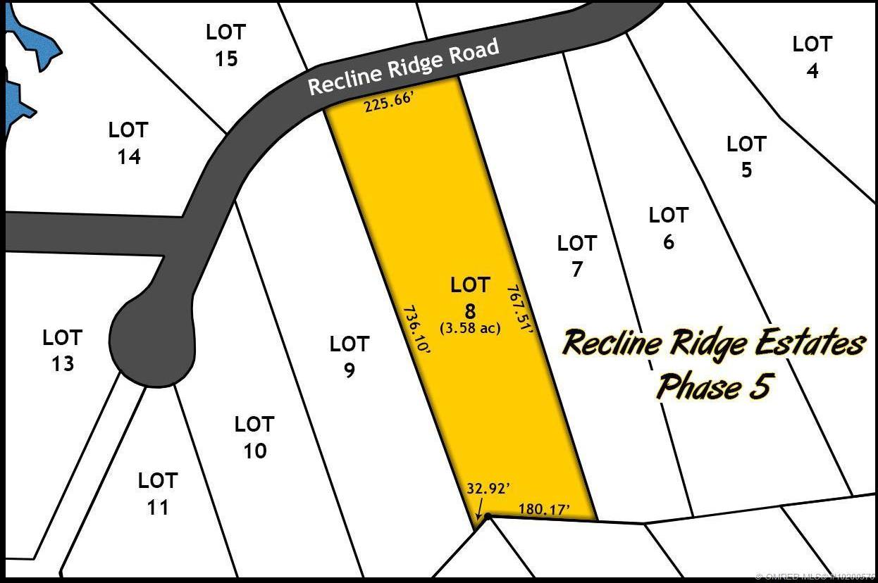 Home for sale at Lot 8 Recline Ridge Rd Unit 8 Tappen British Columbia - MLS: 10200576