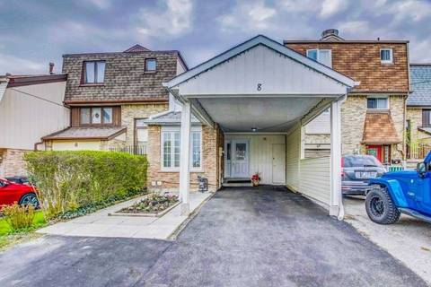 Townhouse for sale at 8 Maraboo Ct Brampton Ontario - MLS: W4454257