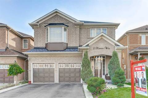 House for sale at 8 Notman Wy Brampton Ontario - MLS: W4576257