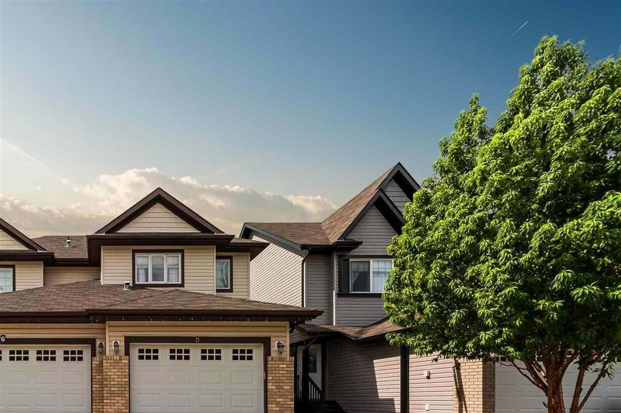 Townhouse for sale at 8 Red Canyon Wy Fort Saskatchewan Alberta - MLS: E4209087