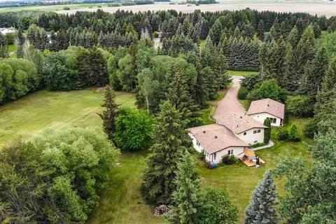 House for sale at 8 Shultz Dr Rural Sturgeon County Alberta - MLS: E4161930