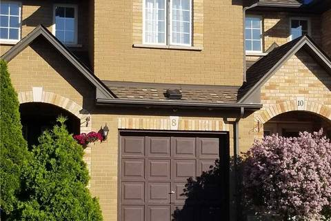 Townhouse for sale at 8 Townmansion Dr Hamilton Ontario - MLS: X4390188
