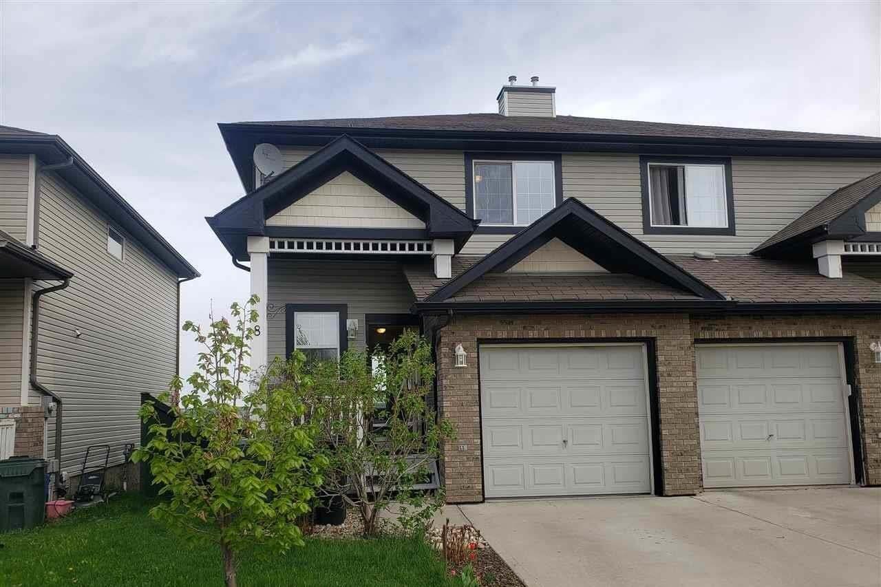 Townhouse for sale at 8 Virginia Av Spruce Grove Alberta - MLS: E4198794
