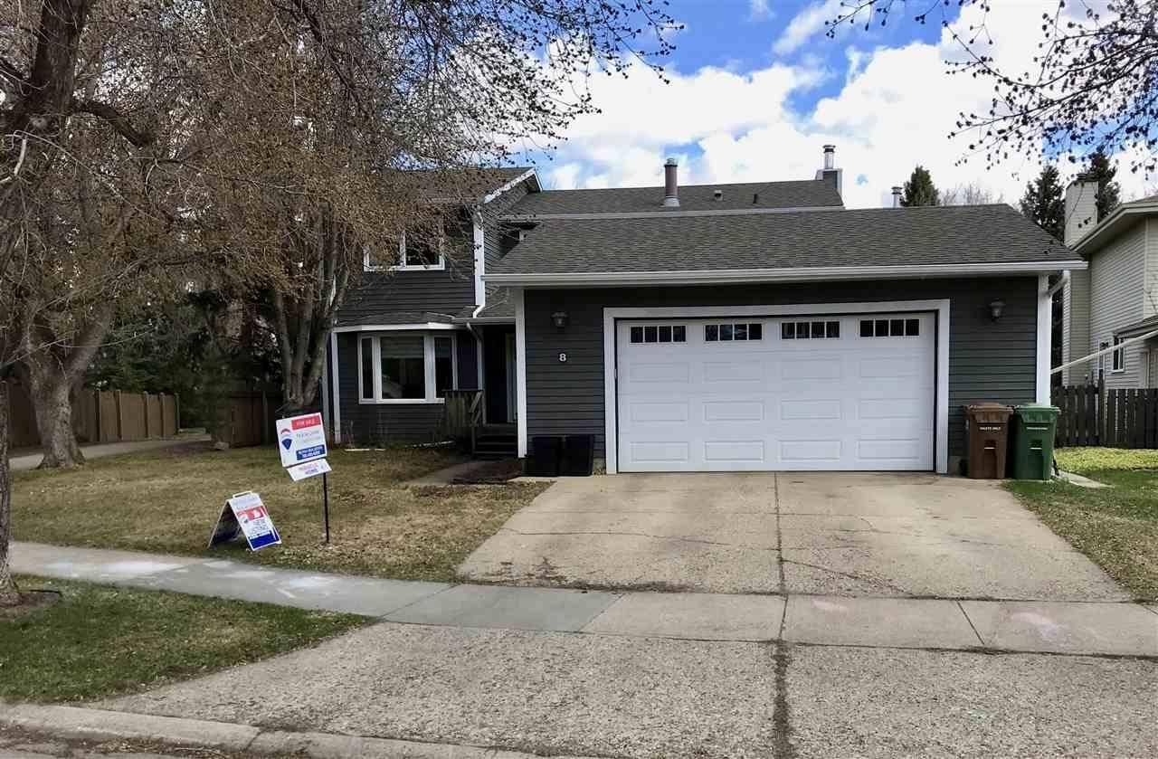 House for sale at 8 Washington Pl St. Albert Alberta - MLS: E4192192