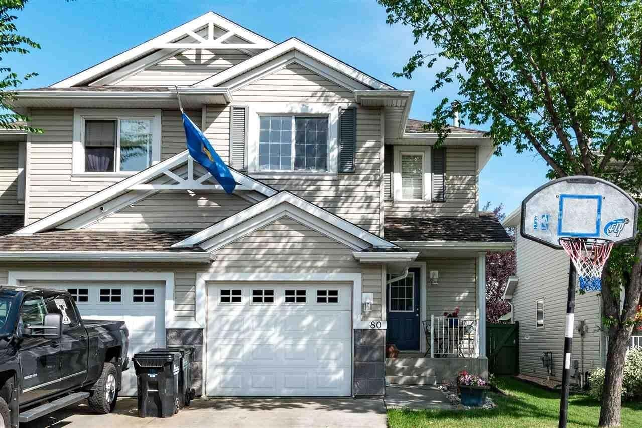 Townhouse for sale at 115 Chestermere Dr Unit 80 Sherwood Park Alberta - MLS: E4209793