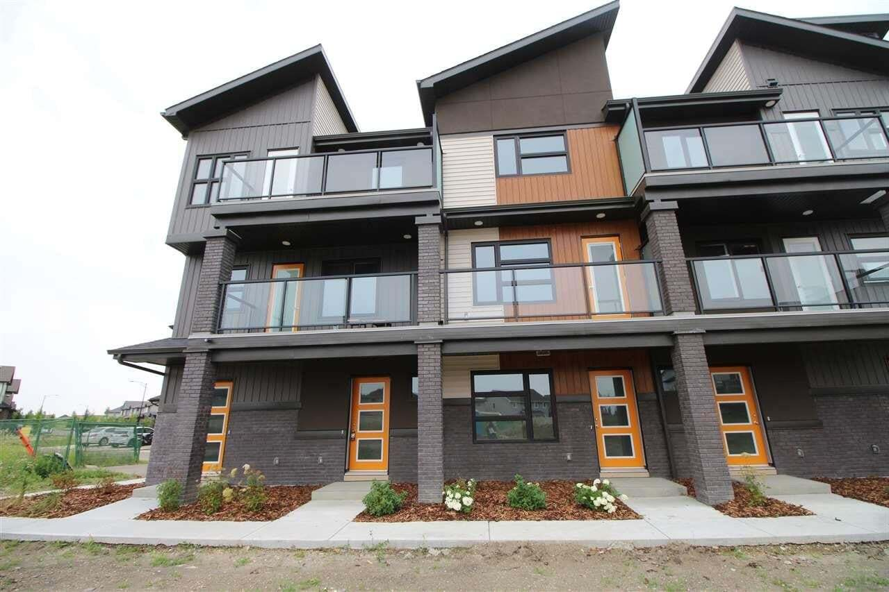 Townhouse for sale at 1203 163 St SW Unit 80 Edmonton Alberta - MLS: E4211001