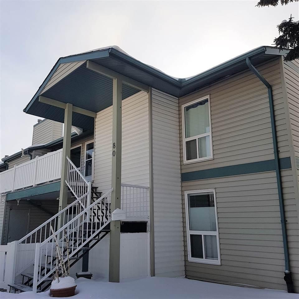 For Sale: 80 - 2703 79 Street, Edmonton, AB | 2 Bed, 1 Bath House for $150,000. See 11 photos!
