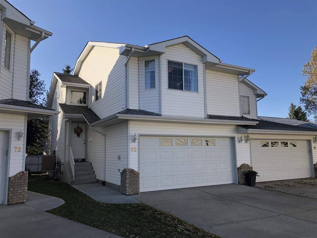 Townhouse for sale at 3 Poirier Ave Unit 80 St. Albert Alberta - MLS: E4176926