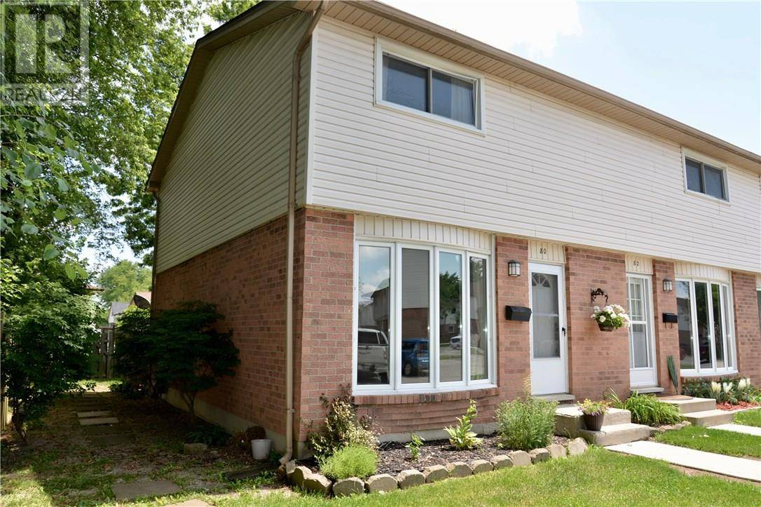 Townhouse for sale at 700 Exeter Rd Unit 80 London Ontario - MLS: 30757274