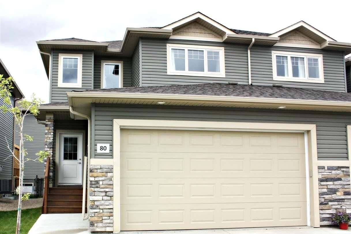 Townhouse for sale at 8602 Southfort Bv Unit 80 Fort Saskatchewan Alberta - MLS: E4200187