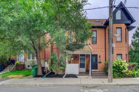 Townhouse for sale at 80 Annette St Toronto Ontario - MLS: W4924267
