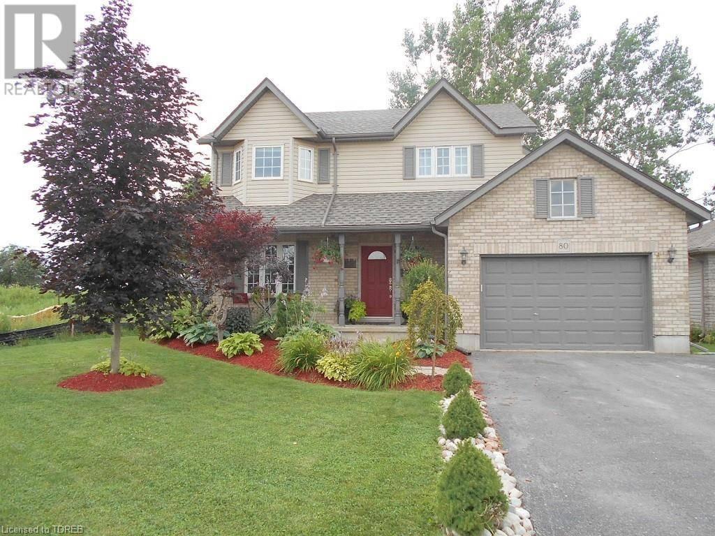 House for sale at 80 Beech Blvd Tillsonburg Ontario - MLS: 214002
