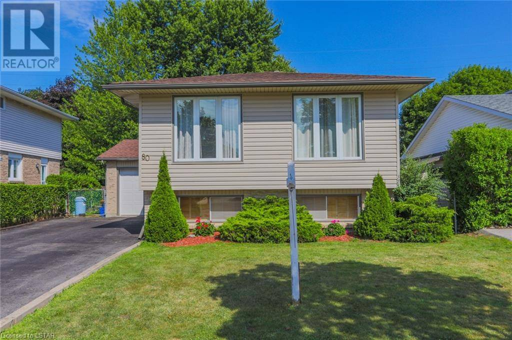 House for sale at 80 Bexhill Dr London Ontario - MLS: 214658