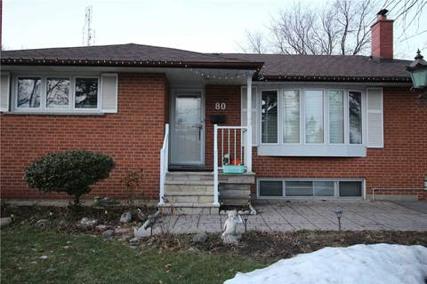 House for rent at 80 Broadlands Blvd Toronto Ontario - MLS: C4654786