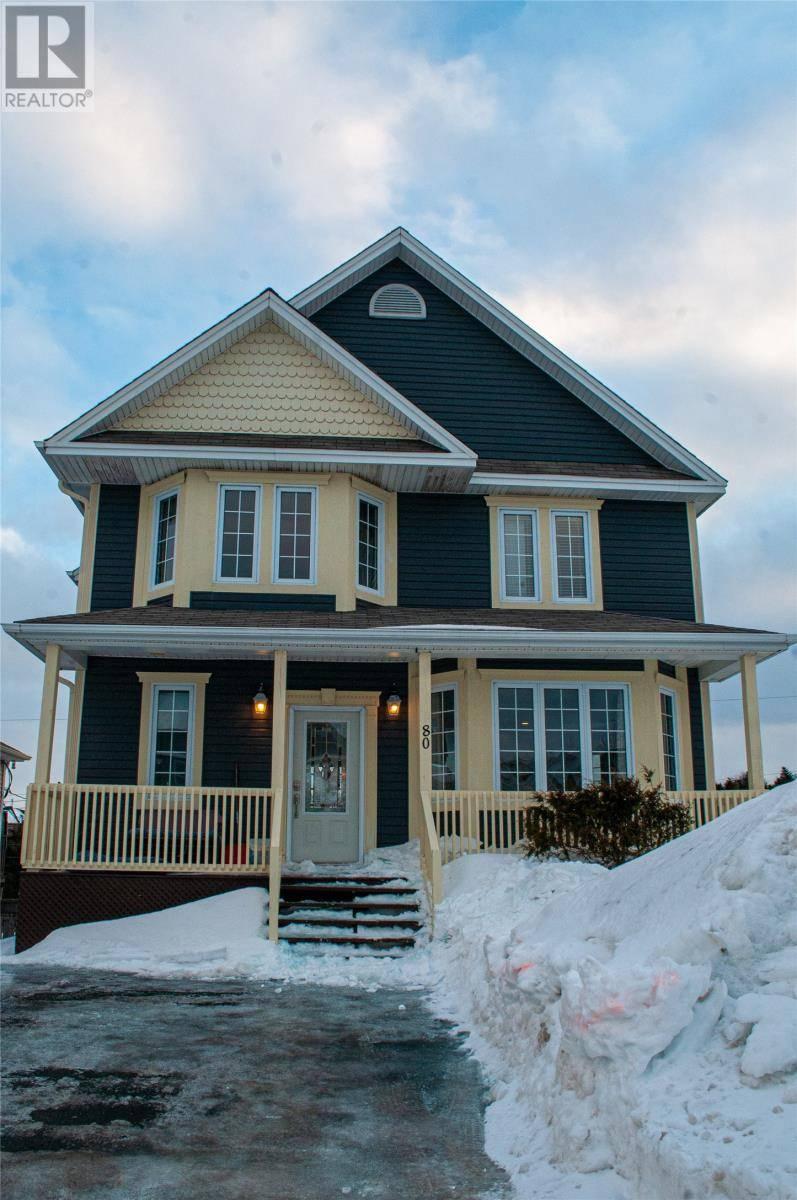 House for sale at 80 Castors Dr Mount Pearl Newfoundland - MLS: 1211616