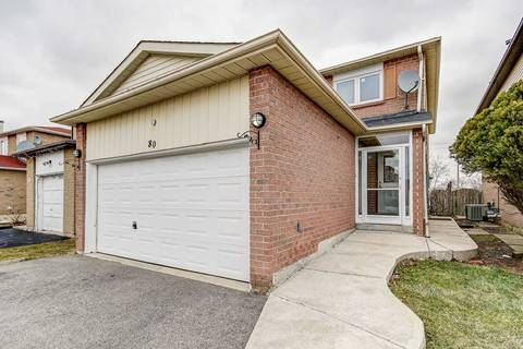 House for sale at 80 Cherrytree Dr Brampton Ontario - MLS: W4731367