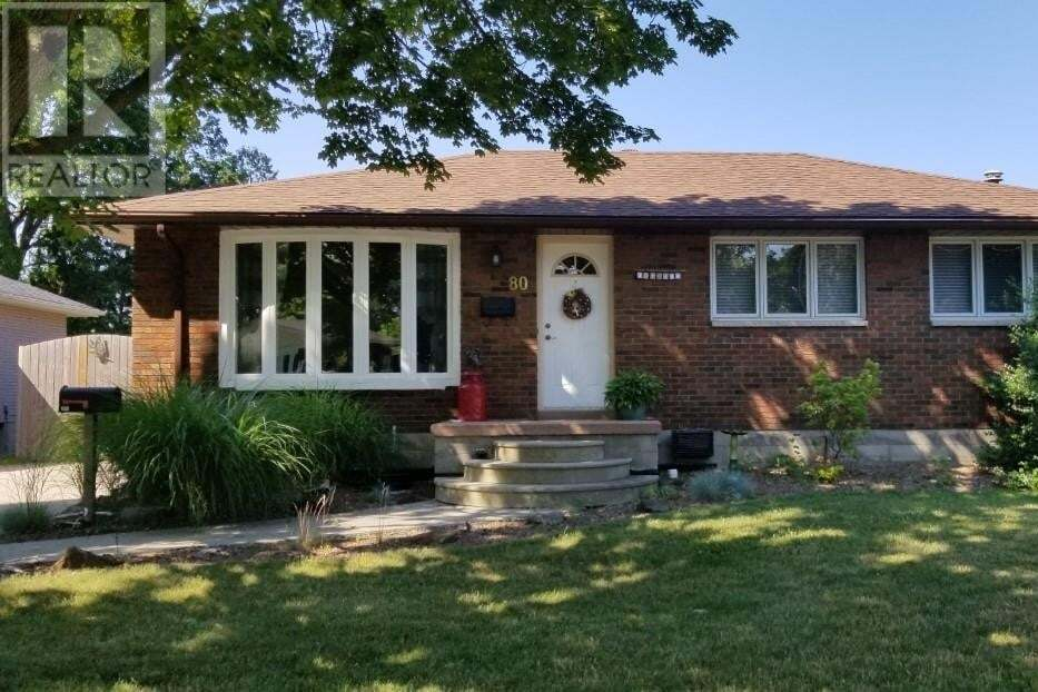 House for sale at 80 Coverdale St Chatham Ontario - MLS: 20008001