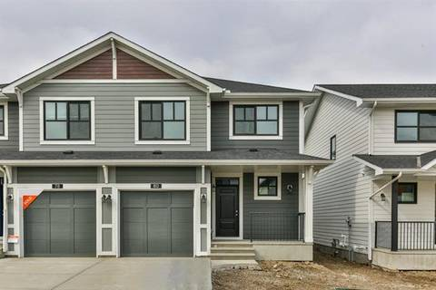 Townhouse for sale at 80 Harvest Grove Common Northeast Calgary Alberta - MLS: C4279906