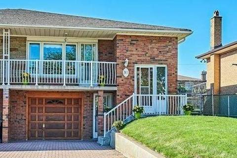 Townhouse for sale at 80 Honeywood Rd Toronto Ontario - MLS: W4481740