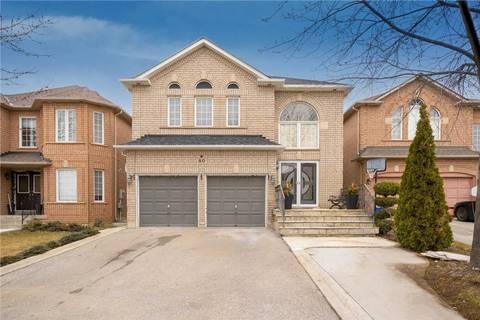 House for sale at 80 Mendocino Dr Vaughan Ontario - MLS: N4726275
