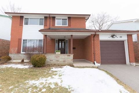 House for sale at 80 Rainier Sq Toronto Ontario - MLS: E4386240