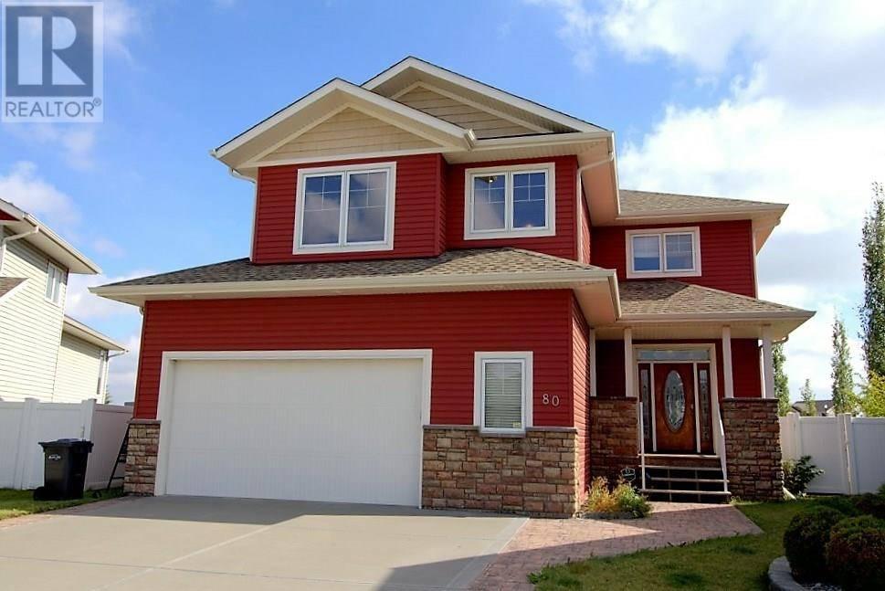 House for sale at 80 Rozier Cs Sylvan Lake Alberta - MLS: ca0148240