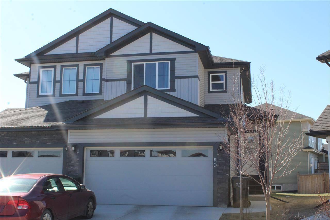 Townhouse for sale at 80 Sandalwood Pl Leduc Alberta - MLS: E4184264