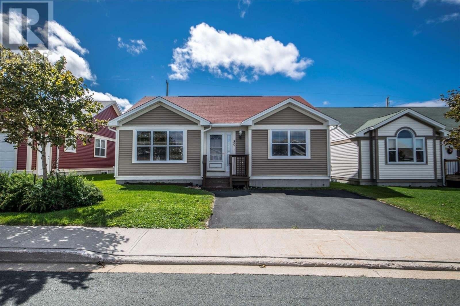 House for sale at 80 Shortall St St. John's Newfoundland - MLS: 1220799