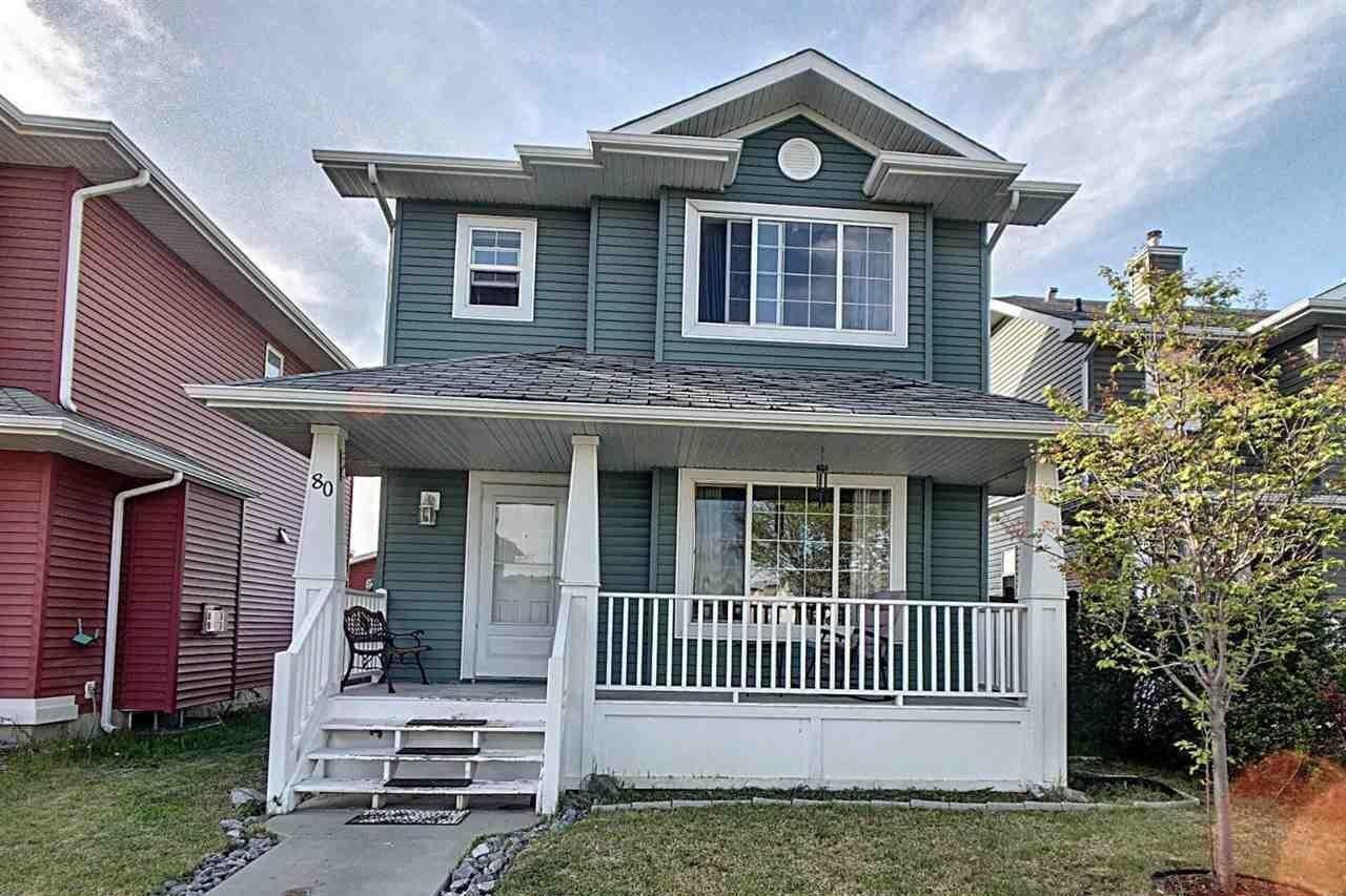 House for sale at 80 Westwood Ln Fort Saskatchewan Alberta - MLS: E4198137