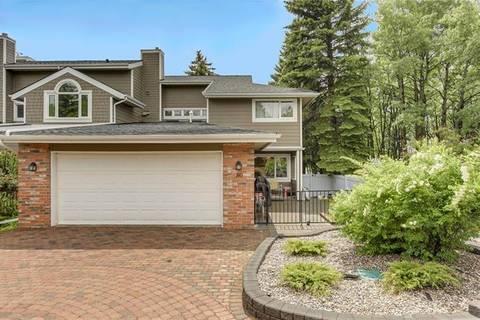 Townhouse for sale at 80 Woodmeadow Cs Southwest Calgary Alberta - MLS: C4254534