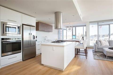 Condo for sale at 1087 2 Ave Northwest Unit 801 Calgary Alberta - MLS: C4277989