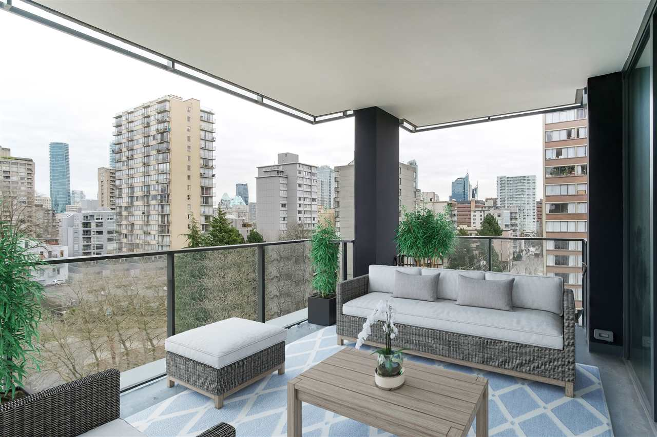 Removed: 801 - 1171 Jervis Street, Vancouver, BC - Removed on 2020-02-26 05:24:27