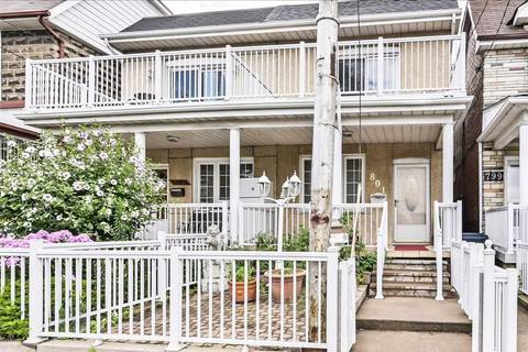 Townhouse for sale at 801 Lansdowne Ave Toronto Ontario - MLS: W4560856