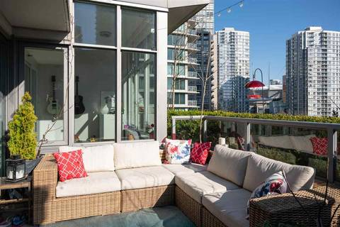 Condo for sale at 1018 Cambie St Unit 802 Vancouver British Columbia - MLS: R2443062