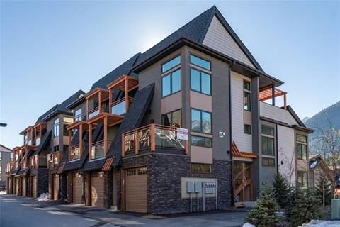 Townhouse for sale at 102 Stewart Creek Ri Unit 802 Canmore Alberta - MLS: C4249534