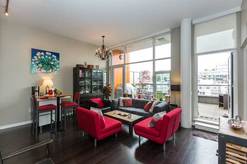 Condo for sale at 123 1st Ave W Unit 802 Vancouver British Columbia - MLS: R2385130