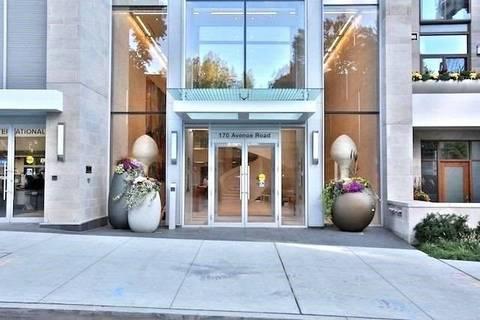 Apartment for rent at 170 Avenue Rd Unit 802 Toronto Ontario - MLS: C4480938