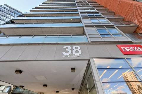 Apartment for rent at 38 Joe Shuster Wy Unit 802 Toronto Ontario - MLS: C4554360