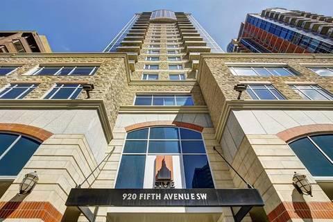 Condo for sale at 920 5 Ave Southwest Unit 802 Calgary Alberta - MLS: C4247343