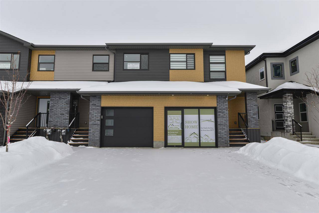 Townhouse for sale at 8028 174a Ave Nw Edmonton Alberta - MLS: E4163250