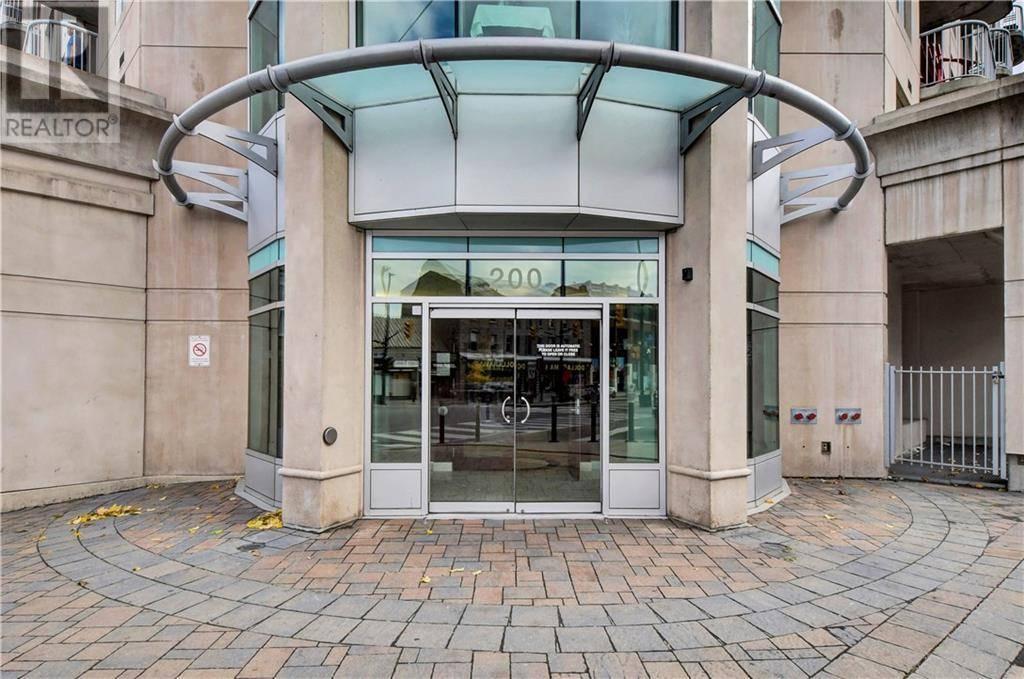 Condo for sale at 200 Rideau St Unit 803 Ottawa Ontario - MLS: 1174414