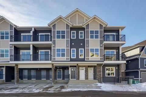 Townhouse for sale at 250 Fireside Vw Unit 803 Cochrane Alberta - MLS: C4287625