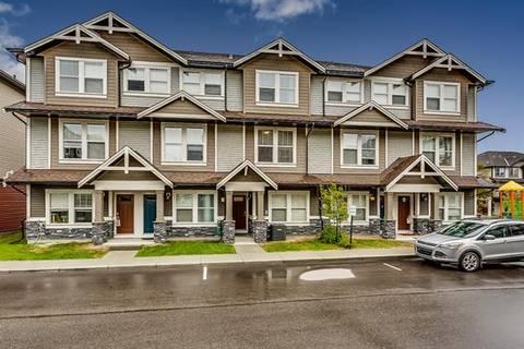 Townhouse for sale at 280 Williamstown Cs Northwest Unit 803 Airdrie Alberta - MLS: C4256274