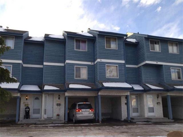 For Sale: 803 - 919 38 Street Northeast, Calgary, AB | 2 Bed, 2 Bath Townhouse for $218,999. See 2 photos!