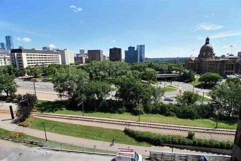 Condo for sale at 9715 110 St Nw Unit 803 Edmonton Alberta - MLS: E4166792