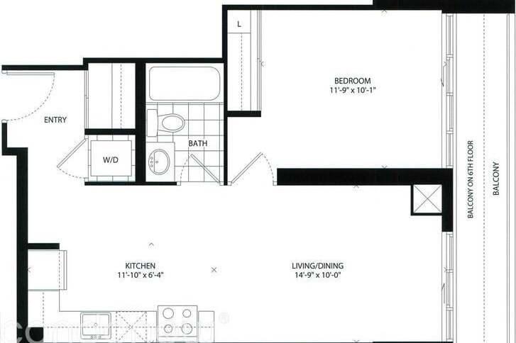 Apartment for rent at 1486 Bathurst St Unit 804 Toronto Ontario - MLS: C4842766