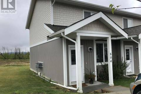 Townhouse for sale at 1617 88 Ave Unit 804 Dawson Creek British Columbia - MLS: 176821