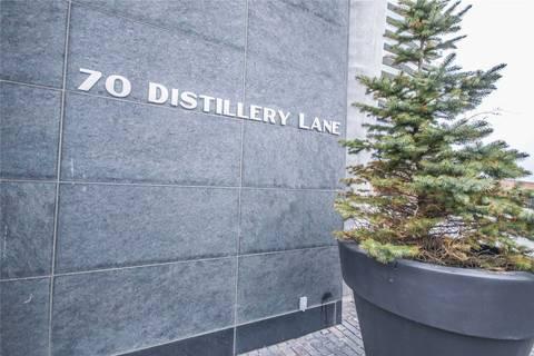 Condo for sale at 70 Distillery Ln Unit 804 Toronto Ontario - MLS: C4734987