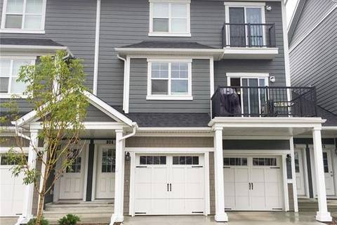 Townhouse for sale at 881 Sage Valley Blvd Northwest Unit 804 Calgary Alberta - MLS: C4270417
